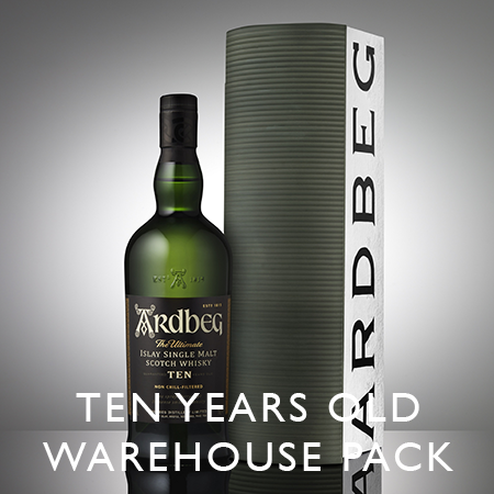 Ardbeg Ten years old Warehouse Pack